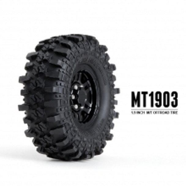 MT 1903 1.9inch off-road tires (2