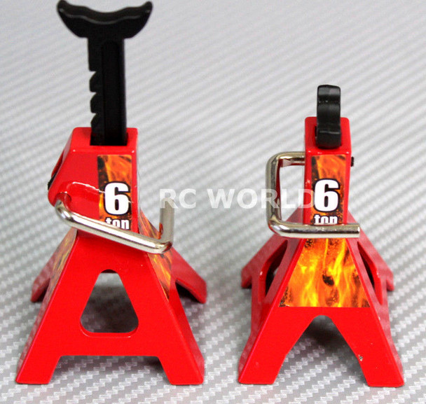 RC 1/10 Scale Accessories Metal Jack Stands 6T