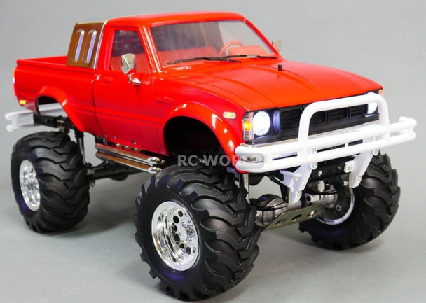 RC 1/10 Scale TRUCK Toyota PICKUP Bruiser Clone 4X4 RC TRUCK 2 Speed RTR -RED-
