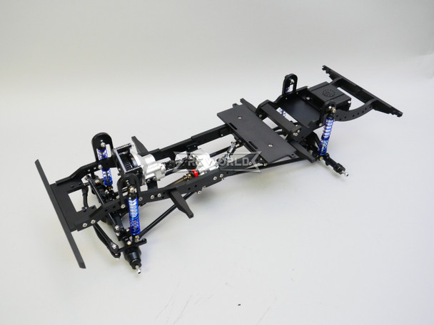 RC Land Rover Defender 90 D90 TRUCK CHASSIS All Metal Custom Rolling Chassis