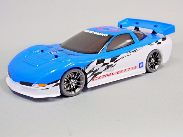 Custom Tamiya 1/10 RC Car CHEVY CORVETTE PACE CAR W/ UPGRADES -RTR-