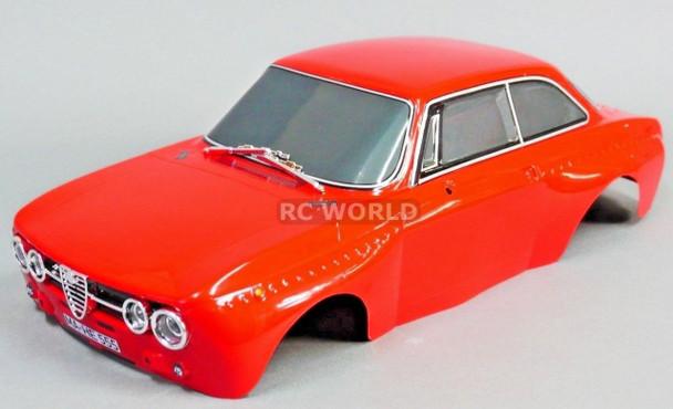1/10 RC Car BODY Shell ALFA ROMEO 2000 GTam 190mm *FINISHED