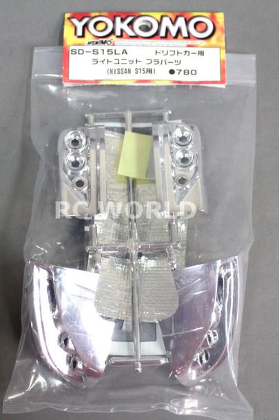 Yokomo 1/10 RC Car LIGHT BUCKETS For NISSAN S15 SILVIA SD-S15LA