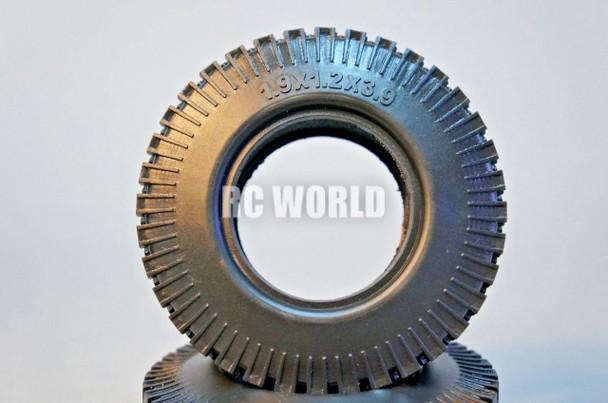 RC 1/10 Scale Truck TIRES WHEELS 1.9 ROCK CRAWLER TRUCK Wheels 99mm Diameter