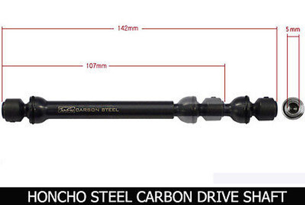 For Axial HONCHO Hardened CARBON STEEL DRIVE SHAFTS (2) Rock Crawling Axles