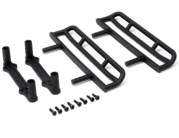 Gmade 1/10 SCALE ROCK SLIDERS For GS01 Chassis BLACK (2PCS) #GM52415