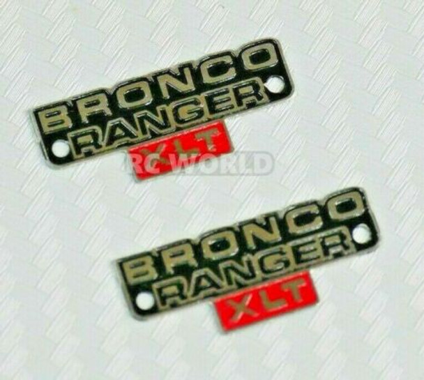 Traxxas Ford Bronco Badges