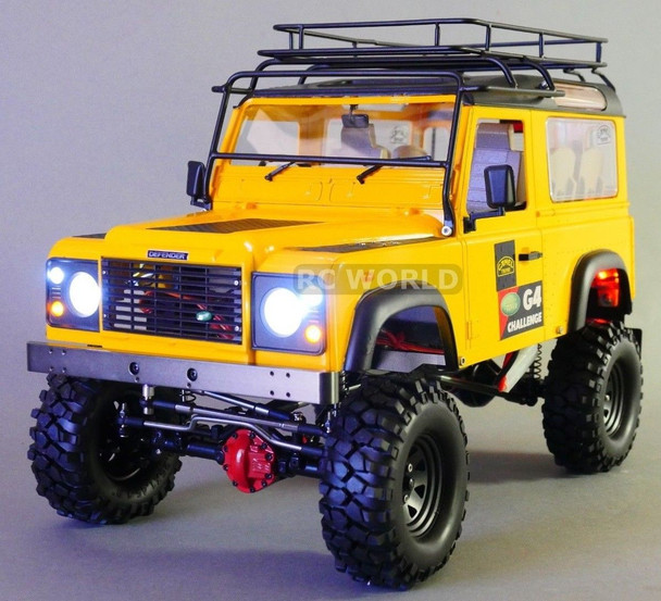 RC Land Rover Defender 90 Camel Trophy.
