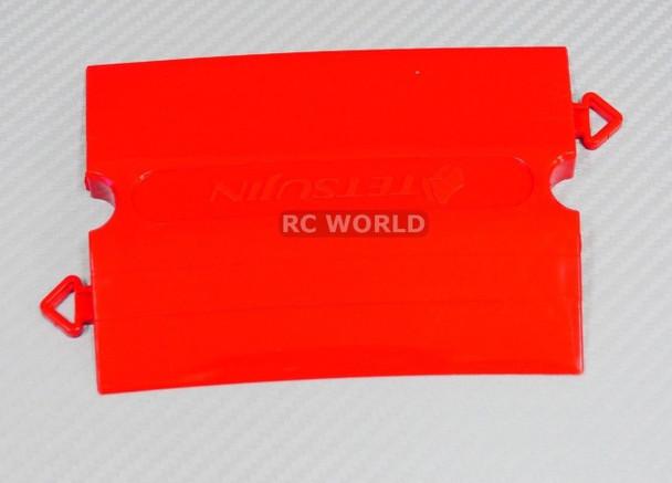 Rc TRACK PARTS 10 Degree Corner RED Tetsujin Kerbs