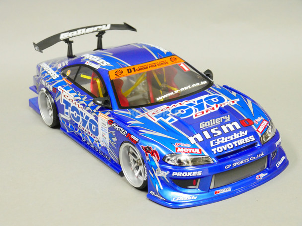 1/10 RC BODY Shell NISSAN S15 Silvia FINISHED