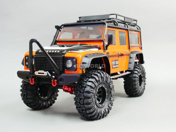 Traxxas TRX-4 DEFENDER Front Bumper BLACK