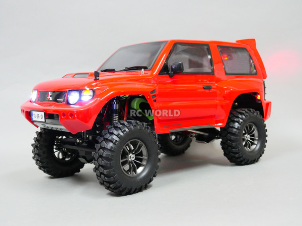 RC Mitsubishi PAJERO Sport 8.4v Metal Chassis W/ SOUND RTR Red