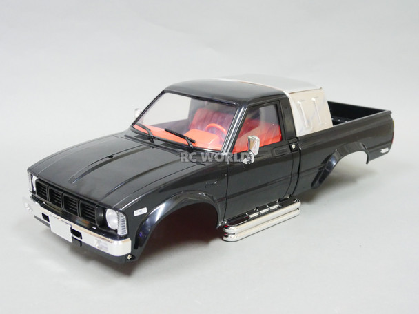 1/10 Toyota Pickup Truck Hard Body Shell Black