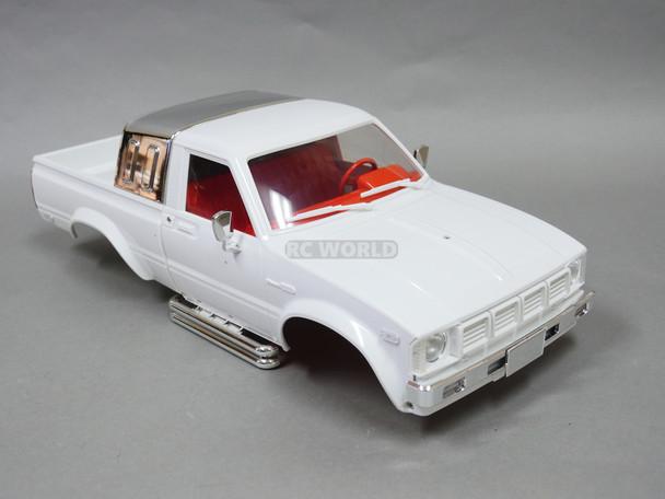 1/10 Toyota Pickup Truck Hard Body Shell White