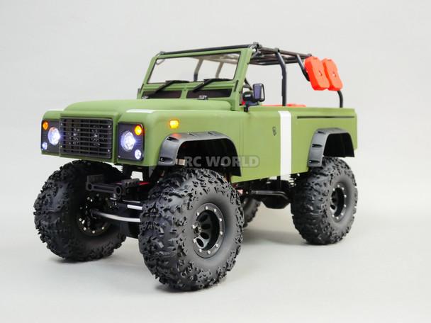 RC 1/10 Rock Crawler Marauder 2.2 RC TRUCK 4x4 Crawler RTR -Drape-