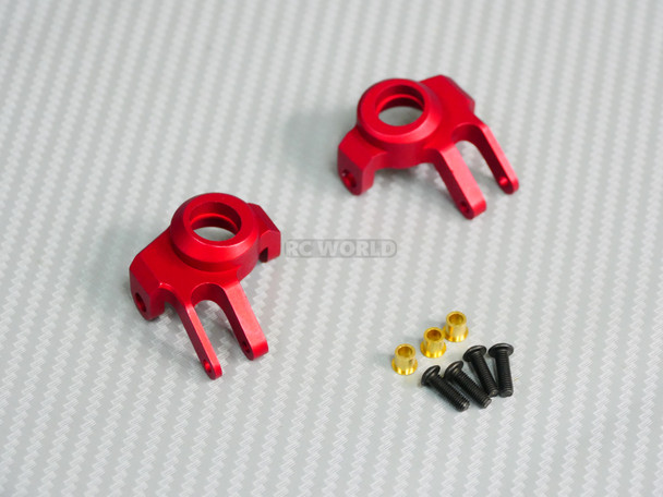 Axial Scx-10-2 Metal Knuckles Set Red
