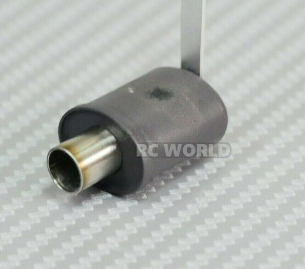 dmagic 1/10 RC Scale Muffler Exhaust Pipe Black