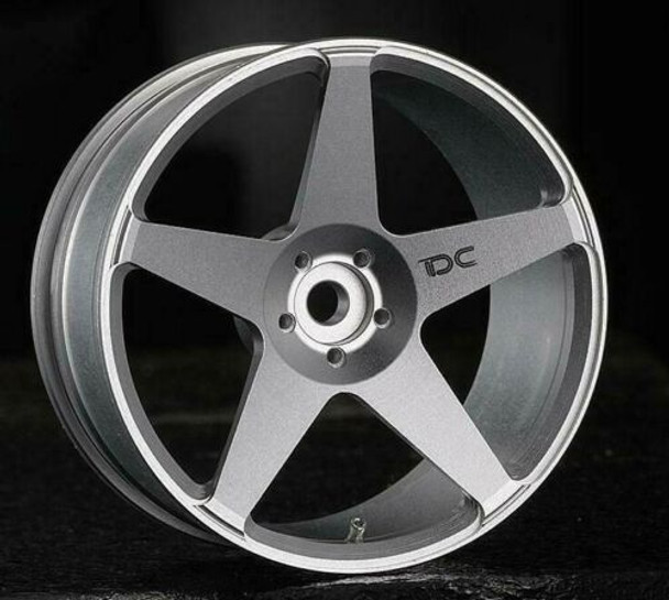 RC 1/10 Aluminum DRIFT WHEELS 6MM Offset Silver (4pcs) dc-0622