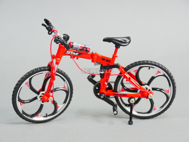 RC 1/10 Scale MOUNTAIN BIKE W/ Moving Parts RED