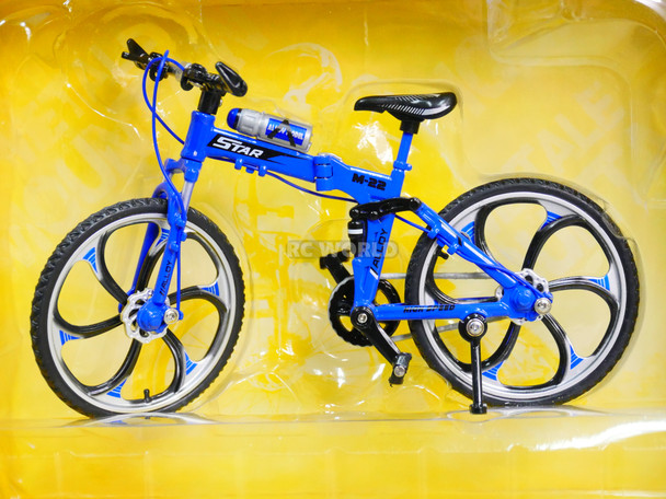 RC 1/10 Scale MOUNTAIN BIKE W/ Moving Parts blue