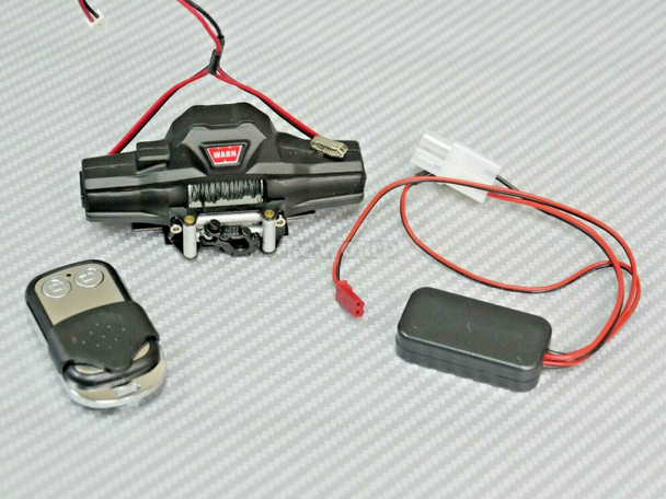 1/10 warn dual motor winch with wireless controller