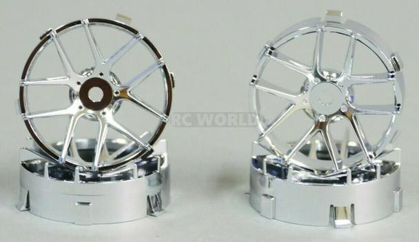 1/10 Tetsujin JASMINE CHROME Adjustable Offset 3-6-9mm -4 RIMS
