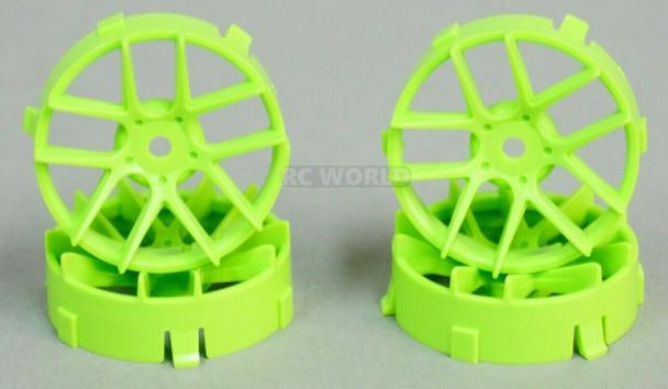 1/10 Tetsujin JASMINE GREEN Adjustable Offset 3-6-9mm -4 RIMS