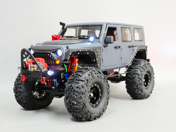 1/10 RC JEEP WRANGLER RUBICON 2-SPEED Rock Crawler 8.4V *RTR*