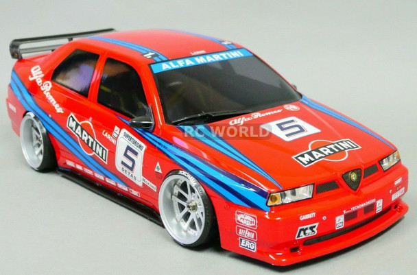 1/10 ALFA ROMEO 155 GTA MARTINI Body Shell *FINISHED*