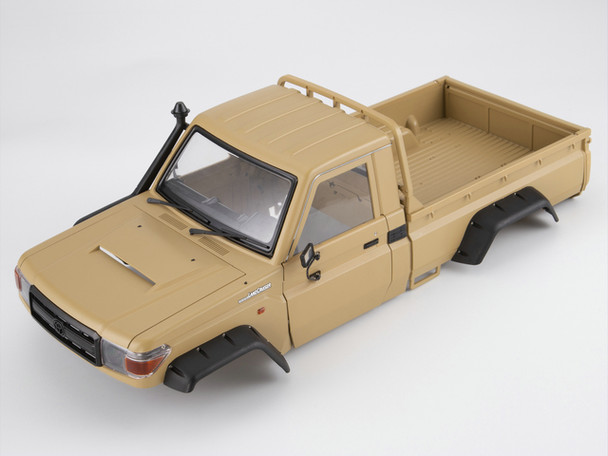 1/10 Truck HARD Body Shell TOYOTA LAND CRUISER LC70 Painted YELLOW Fits TRX-4