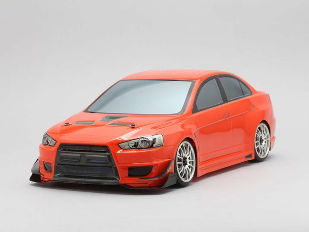 Yokomo 1/10 RC Car Body MITSUBISHI LANCER EVO X 190mm SD-EVXB
