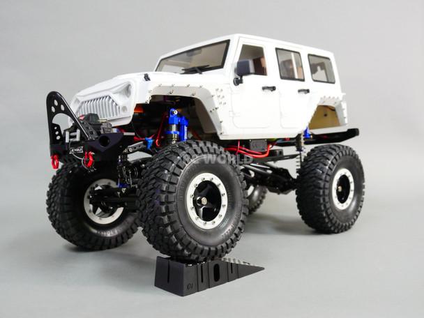 1/10 RC JEEP WRANGLER RUBICON 2-SPEED Rock Crawler 8.4V - WHITE- *RTR*