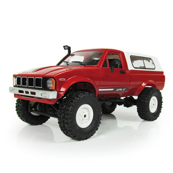 RC 1/16 Truck TOYOTA Pick Up  4X4 RC Rock Crawler *RTR* Red