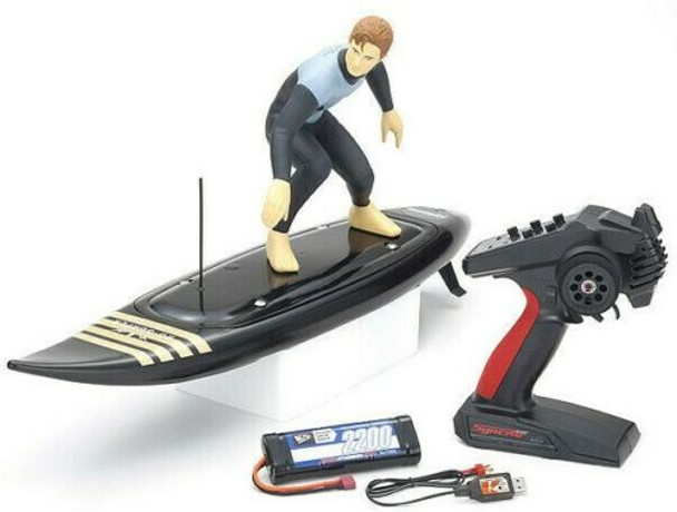 Kyosho RC SURFER 2.4ghz Water Proof Ready To Run -RTR- BLACK
