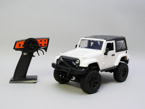 RC Jeep White