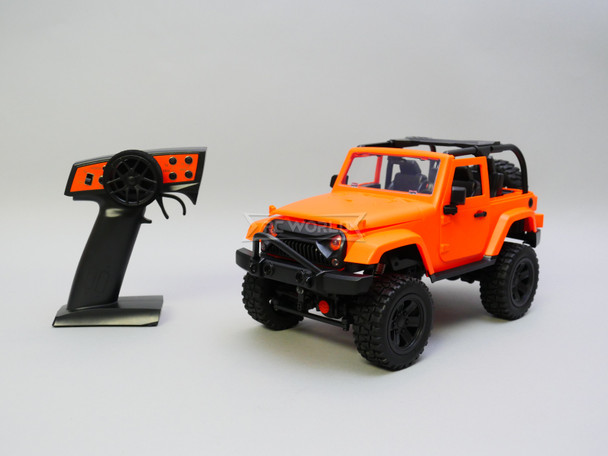 RC Jeep Orange Bikini Top