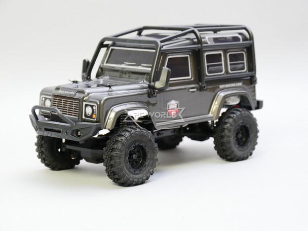 RC 1/24 Micro Land Rover D90 4X4 RC Rock Crawler *RTR* Gray