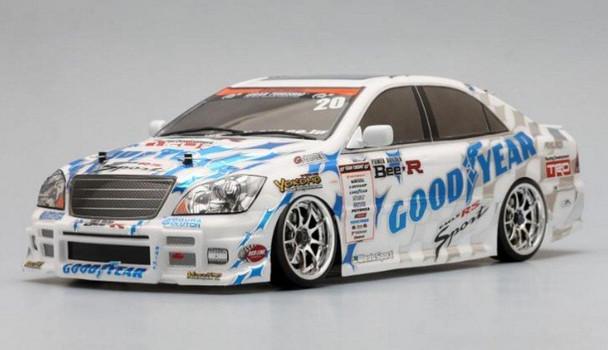 Yokomo 1/10 RC Car Body Good Year Racing Zero Crown Body Set  SD-ZCRSA