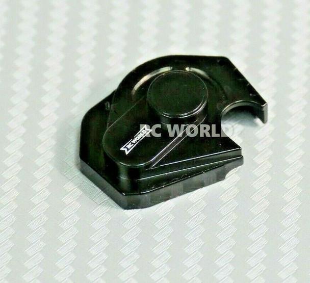 Axial SCX24 Metal Gear Box Cover Aluminum (1pcs) BLACK