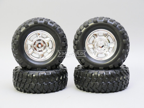 RC Scale Wheel Set FORD F350