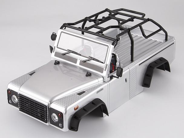 RC 1/10 Truck Body Shell MARAUDER Rock Crawler - SILVER-