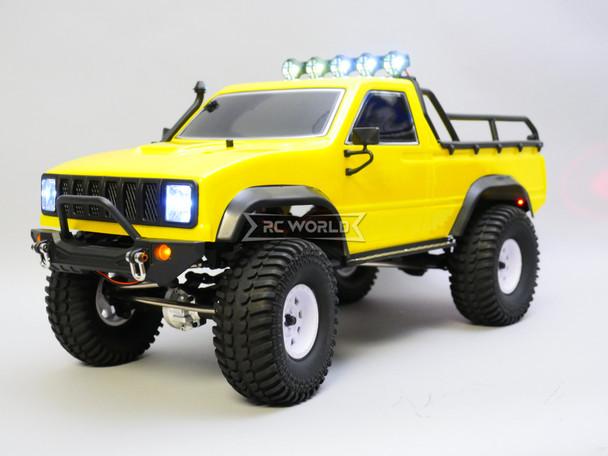 RGT 1/10 RC Truck Pick Up Rock Crawler 4x4 RTR 313mm Yellow