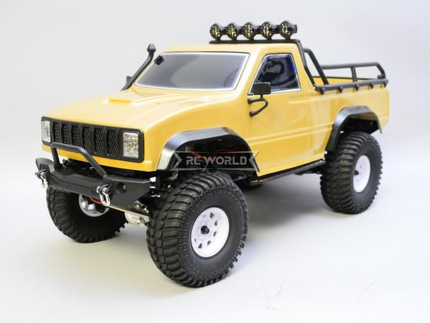 RGT 1/10 RC Truck Pick Up Rock Crawler 4x4 RTR 313mm Brown