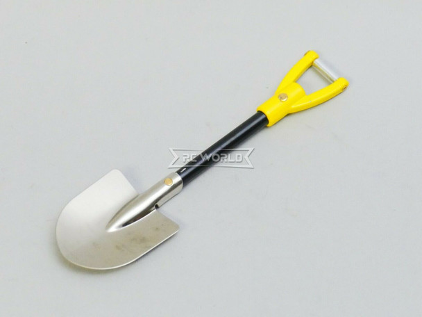 RC 1/10 Scale Truck Accessories METAL SHOVEL - YELLOW -