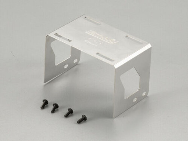 For Axial SCX10 Stainless Steel BATTERY HOLDER Toyota Land Cruiser LC70 #48674