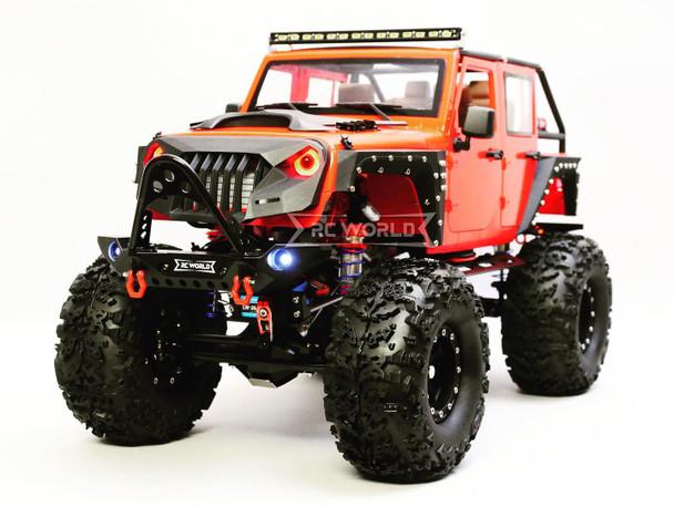 custom 1/10 Jeep Wrangler RC Truck