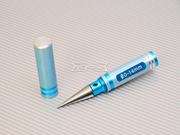 Body Hole REAMER Tool 0-14mm Body Hole Maker CNC Aluminum BLUE