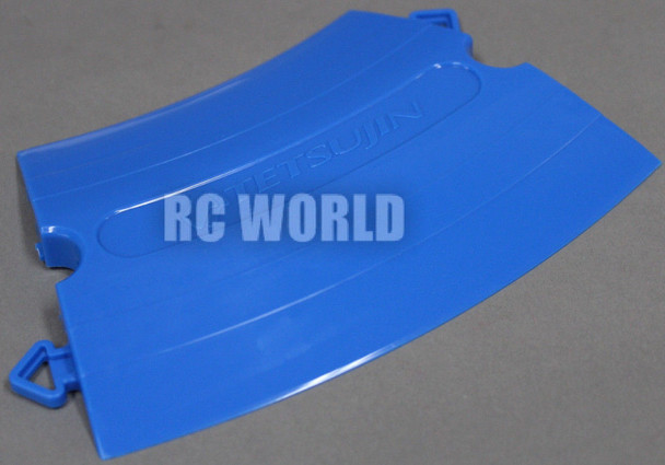 Rc  TRACK PARTS Corners BLUE Tetsujin Kerbs