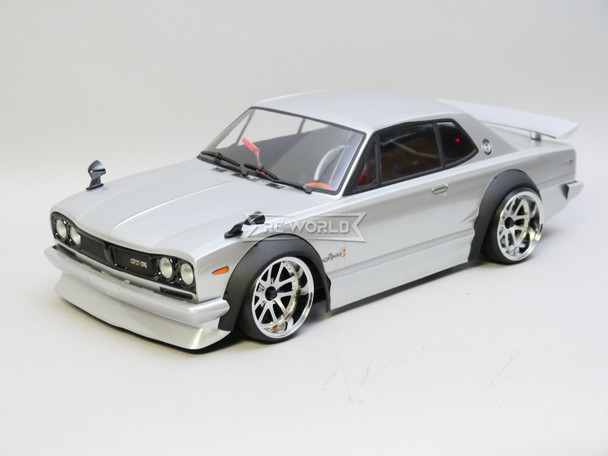 RC Car BODY  Nissan Skyline HT2000 GTR Wide Body 200mm