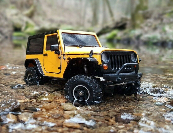Orlandoo RC 1/32 Micro JEEP WRANGLER 4X4 Rock Crawler Truck -KIT-